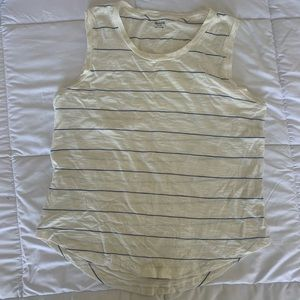 Striped Madewell Muscle Tank size M